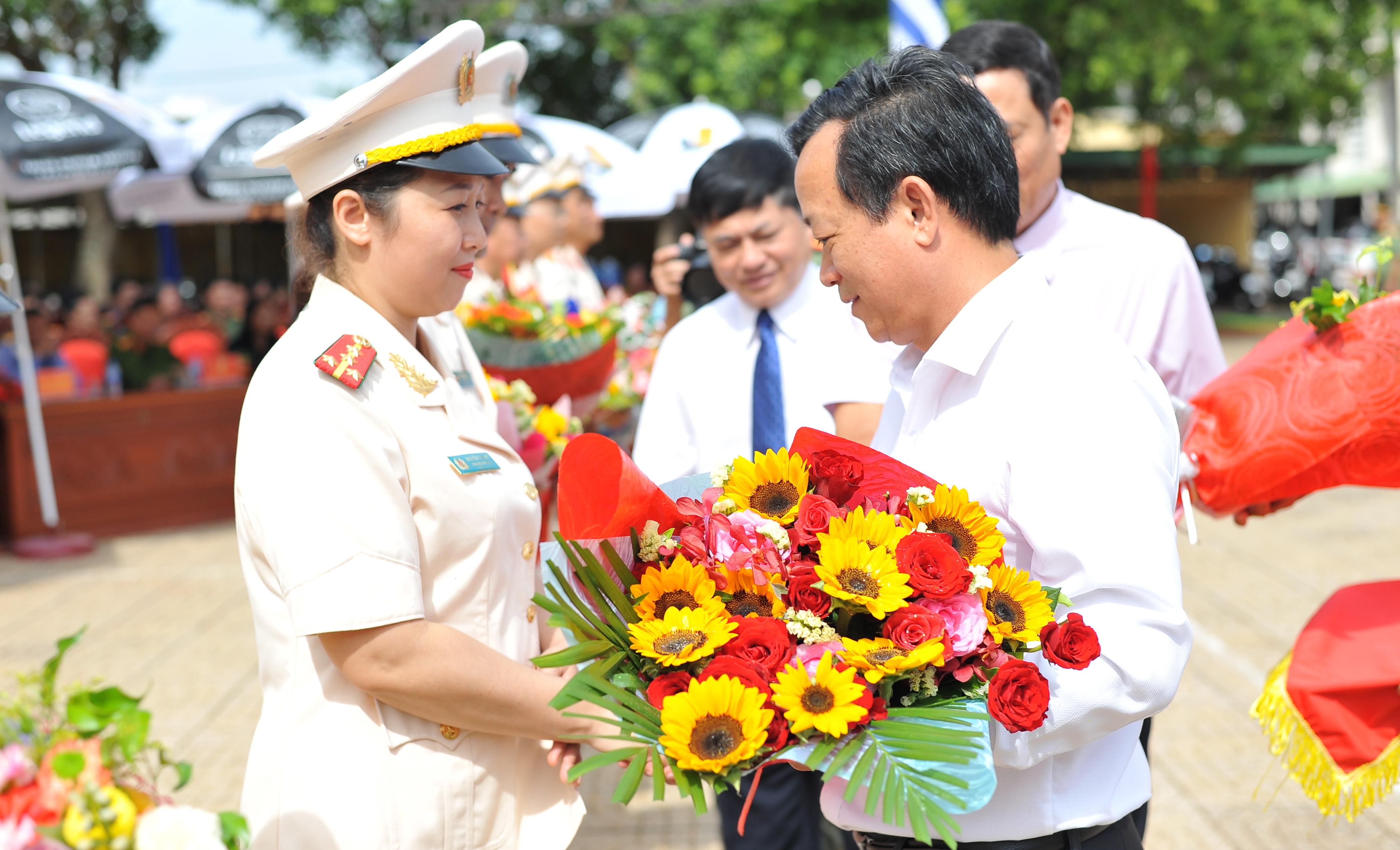 Công an Đắk Lắk điều động cán bộ Công an chính quy về Công an xã