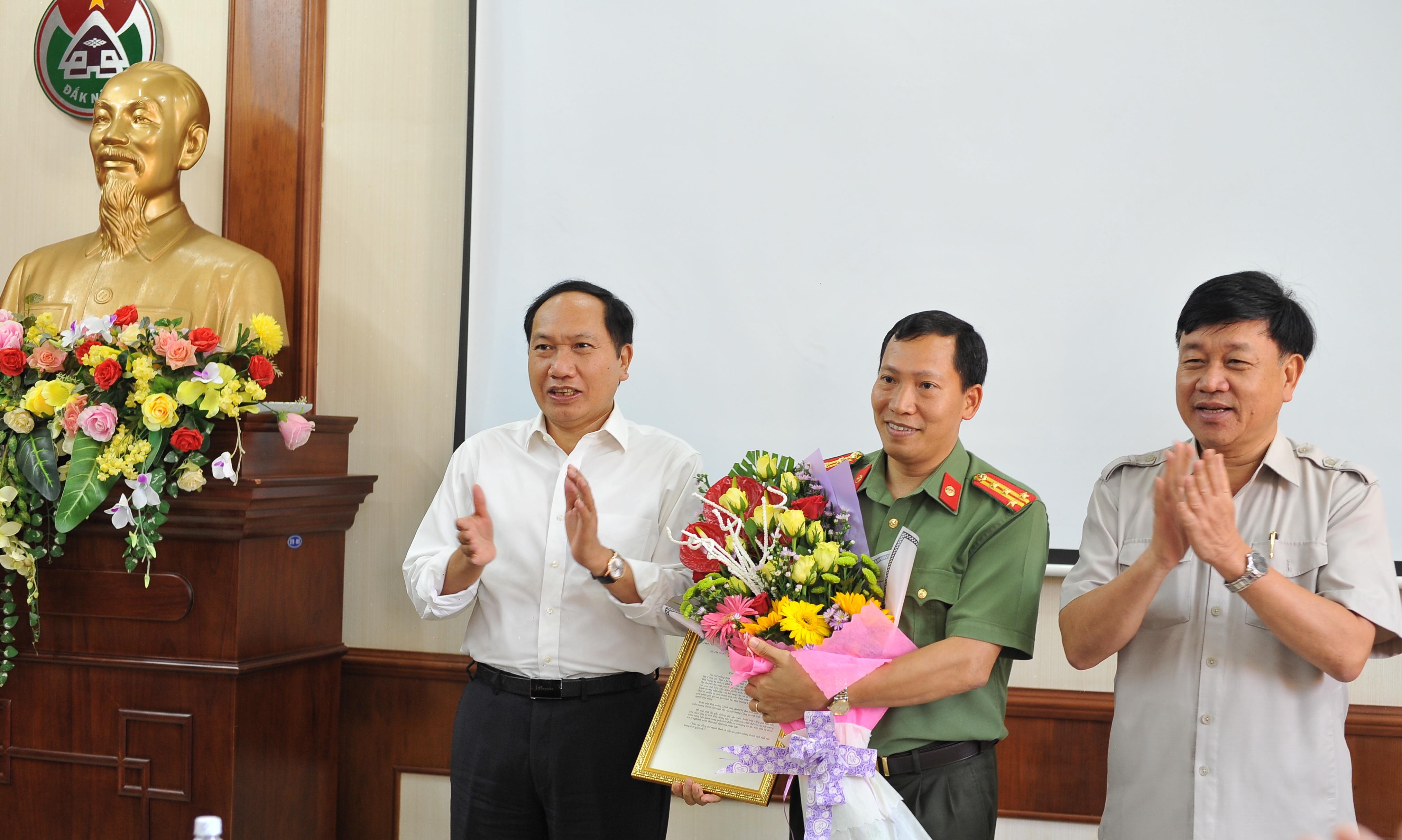 Phó Thủ tướng Trương Hoà Bình gửi Thư khen Công an tỉnh Đắk Nông