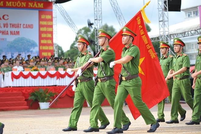 Khai mạc Chung kết Hội thi điều lệnh, bắn súng, võ thuật CAND khu vực phía Nam lần thứ 5 - Ảnh minh hoạ 6