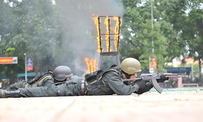 Khai mạc Chung kết Hội thi điều lệnh, bắn súng, võ thuật CAND khu vực phía Nam lần thứ 5 - Ảnh minh hoạ 23
