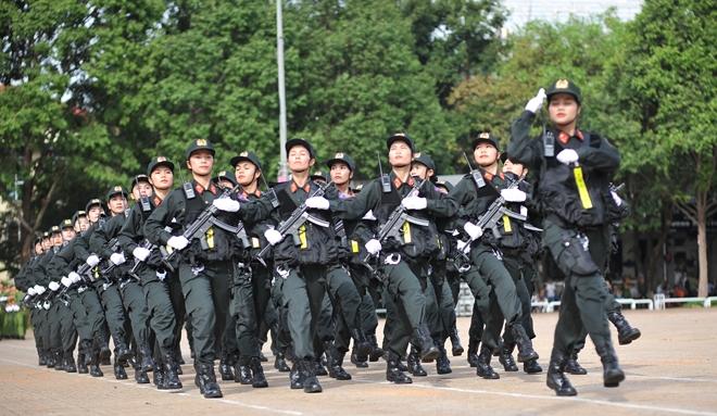 Khai mạc Chung kết Hội thi điều lệnh, bắn súng, võ thuật CAND khu vực phía Nam lần thứ 5 - Ảnh minh hoạ 9