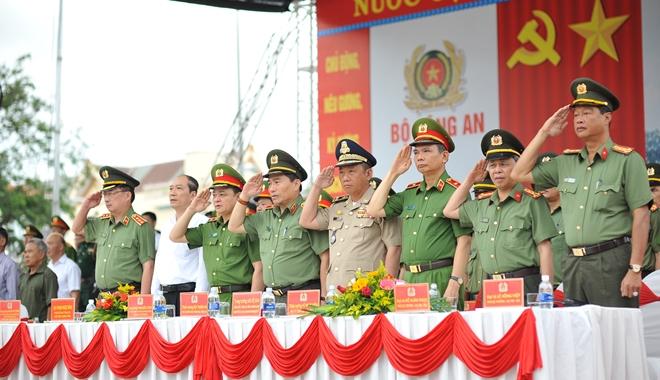 Khai mạc Chung kết Hội thi điều lệnh, bắn súng, võ thuật CAND khu vực phía Nam lần thứ 5 - Ảnh minh hoạ 2