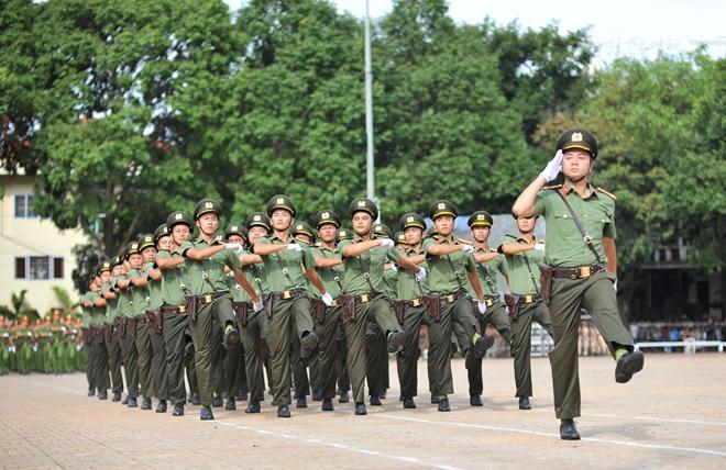 Bế mạc Hội thi điều lệnh, bắn súng, võ thuật CAND lần thứ 5 khu vực phía Nam - Ảnh minh hoạ 6