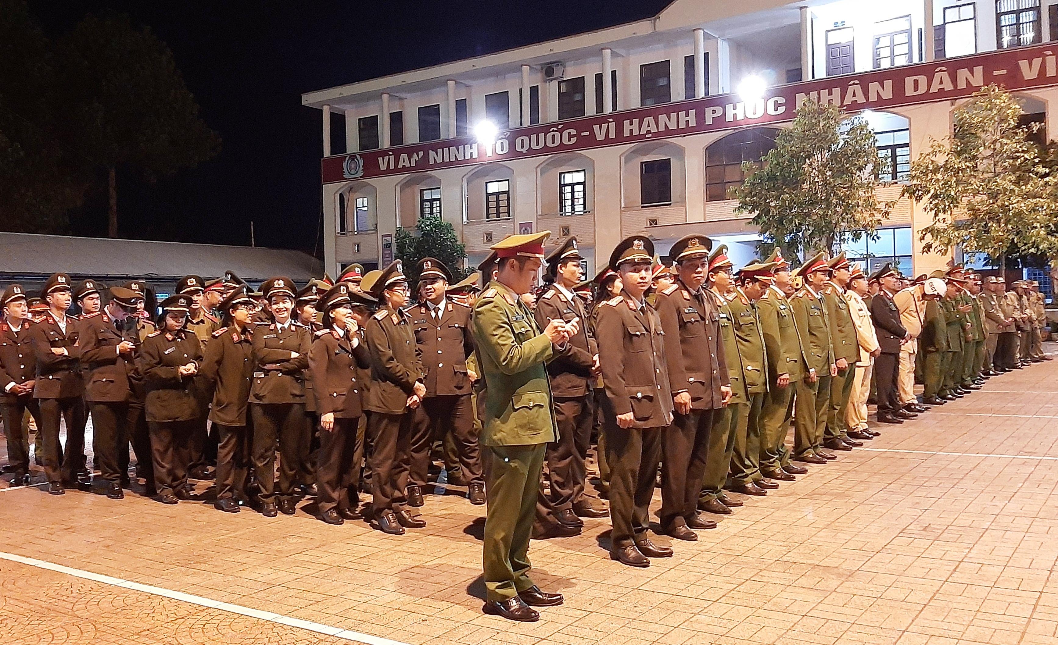 Công an TP Buôn Ma Thuột ra quân đảm bảo ANTT các sự kiện lớn năm 2020