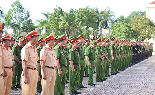 Đảm bảo tuyệt đối ANTT, bảo vệ Đại hội đại biểu Đảng bộ các cấp tỉnh Đắk Nông - Ảnh minh hoạ 4
