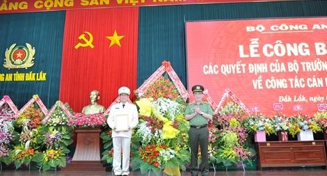 Đại tá Lê Vinh Quy giữ chức vụ Giám đốc Công an tỉnh Đắk Lắk