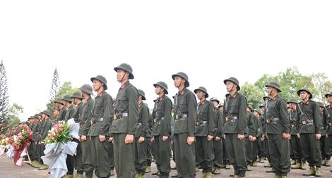 Khai giảng Khoá huấn luyện công dân phục vụ có thời hạn trong lực lượng CAND