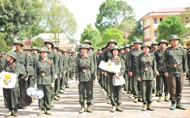 Khai giảng Khoá huấn luyện công dân phục vụ có thời hạn trong lực lượng CAND - Ảnh minh hoạ 5