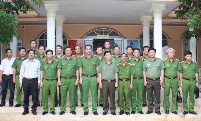Lãnh đạo Bộ Công an kiểm tra công tác tại Trại giam Phước Hoà và Mỹ Phước - Ảnh minh hoạ 5
