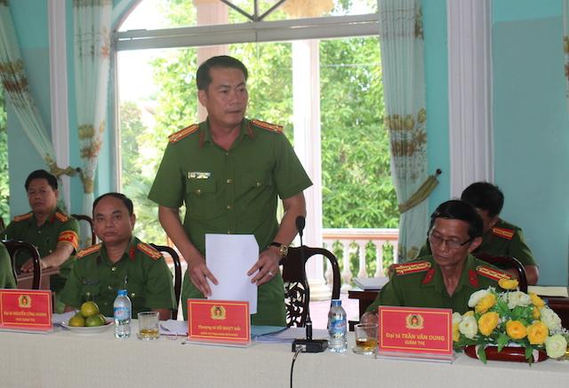 Lãnh đạo Bộ Công an kiểm tra công tác tại Trại giam Phước Hoà và Mỹ Phước - Ảnh minh hoạ 3