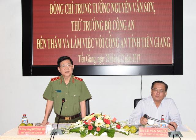Thứ trưởng Nguyễn Văn Sơn kiểm tra, chỉ đạo công tác tại Tiền Giang - Ảnh minh hoạ 2