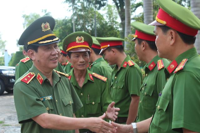 Lãnh đạo Bộ Công an kiểm tra công tác tại Trại giam Phước Hoà và Mỹ Phước