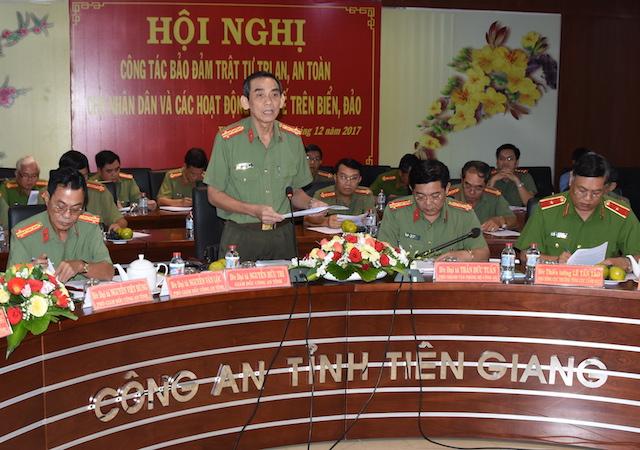 Thứ trưởng Nguyễn Văn Sơn kiểm tra, chỉ đạo công tác tại Tiền Giang