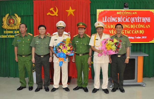 Công bố quyết định bổ nhiệm Giám đốc Công an tỉnh Vĩnh Long - Ảnh minh hoạ 3