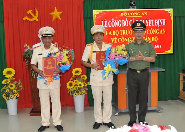 Công bố quyết định bổ nhiệm Giám đốc Công an tỉnh Vĩnh Long
