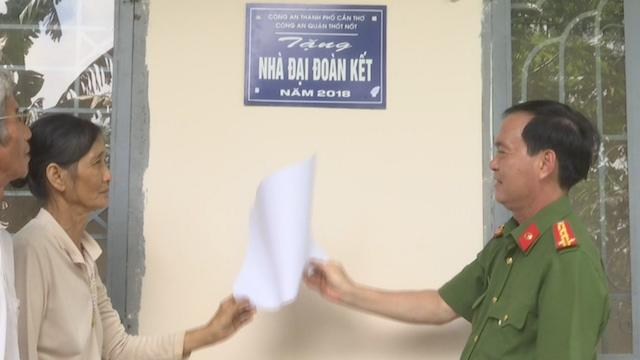 Công an TP Cần Thơ tặng nhà Đại đoàn kết tại huyện Cờ Đỏ - Ảnh minh hoạ 2