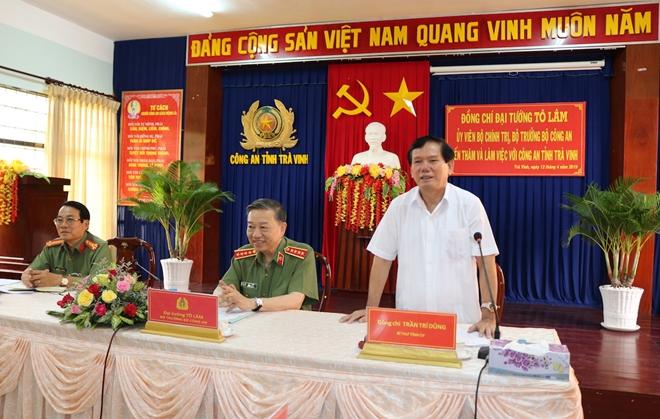 Bộ trưởng Tô Lâm kiểm tra, chỉ đạo công tác tại Công an tỉnh Trà Vinh - Ảnh minh hoạ 5