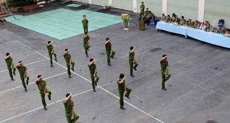 Đoàn thanh niên Công an tỉnh Trà Vinh tổ chức liên hoan võ thuật