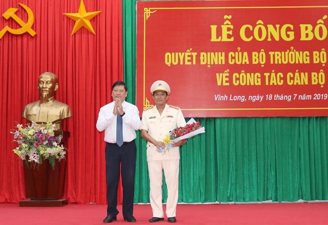 Công bố quyết định điều động, bổ nhiệm Giám đốc Công an tỉnh Vĩnh Long - Ảnh minh hoạ 3
