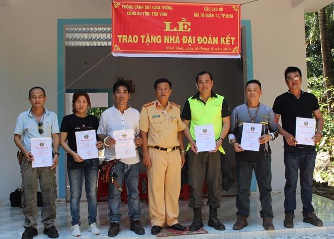 Phòng CSGT Công an tỉnh Trà Vinh tặng nhà đại đoàn kết - Ảnh minh hoạ 2