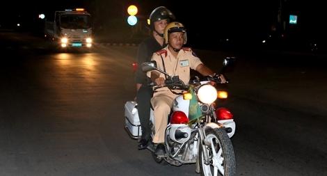 Công an Trà Vinh đấu tranh hiệu quả tội phạm trên tuyến giao thông