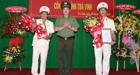 Công an tỉnh Trà Vinh có tân Giám đốc