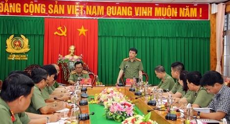 Phối hợp, nâng cao hiệu quả tuyên truyền giữa Báo CAND và Công an tỉnh Vĩnh Long