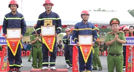 Hội thi thể thao nghiệp vụ chữa cháy và cứu nạn cứu hộ vòng loại khu vực VIII