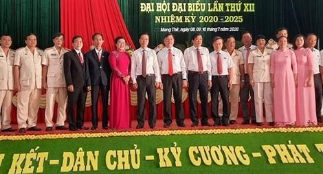 Đồng chí Võ Văn Thưởng dự Đại hội điểm Đảng bộ huyện Mang Thít