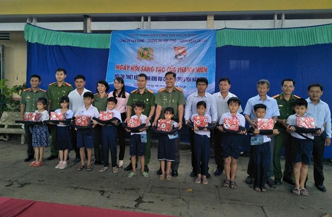 Đoàn Thanh niên Công an tỉnh Tiền Giang thiết kế khu vui chơi cho thiếu nhi - Ảnh minh hoạ 2