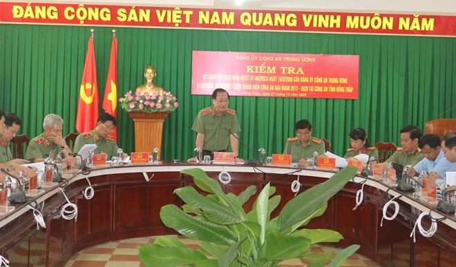 Thứ trưởng Nguyễn Văn Thành kiểm tra công tác tại Đồng Tháp - Ảnh minh hoạ 3