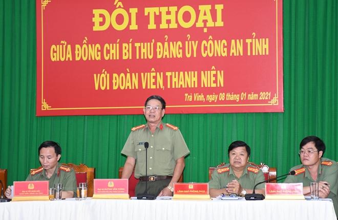 Giám đốc Công an tỉnh Trà Vinh đối thoại với đoàn viên, thanh niên - Ảnh minh hoạ 2