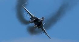 MiG-29 bốc cháy dữ dội, phi công thoát hiểm ngoạn mục