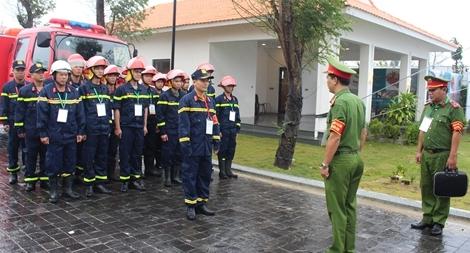 Đảm bảo tuyệt đối an toàn PCCC những ngày đầu TLCC APEC