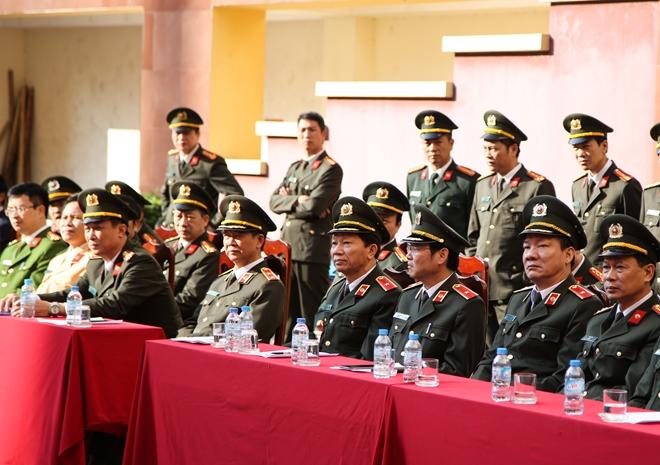 Khai mạc tuần lễ thể thao chào mừng 65 năm Ngày thành lập lực lượng Cảnh vệ CAND