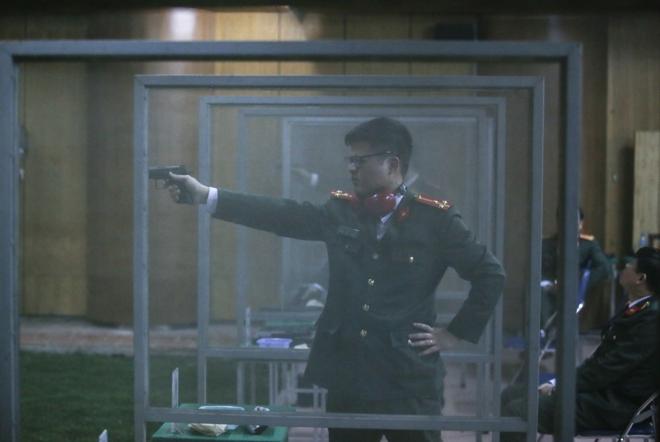 """Các thiện xạ Cảnh vệ CAND phô diễn kĩ năng bắn súng """"bách phát, bách trúng"""" - Ảnh minh hoạ 10"""