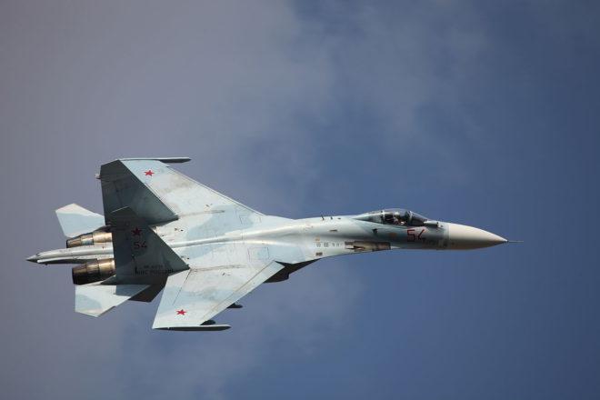 Một chiếc Su-27 của quân đội Nga. Ảnh: ITN
