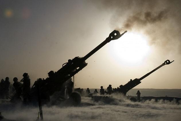 Một biên đội pháo của Thổ Nhĩ Kỳ. Ảnh: ITN