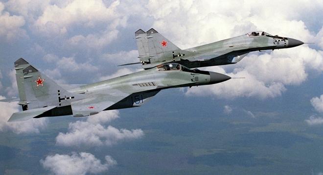 Máy bay chiến đấu MiG-29 của Nga. Ảnh: ITN