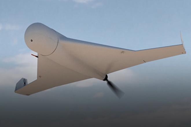 Hình ảnh mô phỏng một mẫu UAV của Nga. Ảnh: ITN