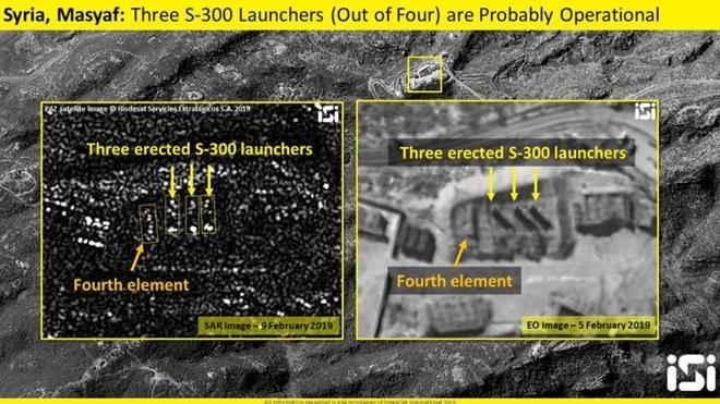 Phòng không S-300 chính thức được kích hoạt ở Syria