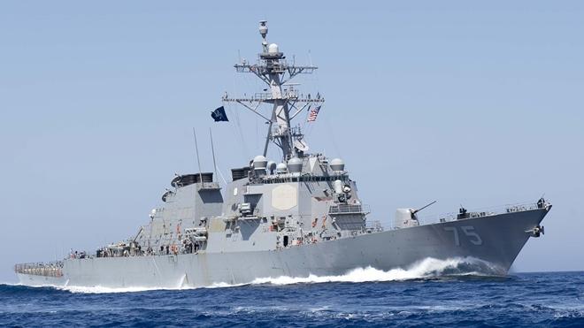 Tàu USS Donald Cook của Hải quân Mỹ. Ảnh: US Navy