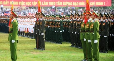 Lực lượng Cảnh vệ thi đua nâng cao văn hoá công sở, lập công dâng Bác