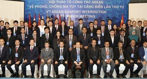 Việt Nam cùng ASEAN chia sẻ kinh nghiệm phòng, chống tội phạm ma tuý qua đường biển