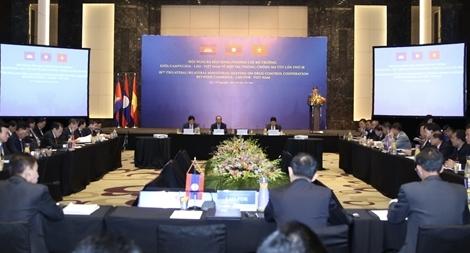 Việt Nam - Lào - Campuchia quyết tâm đẩy lùi vấn nạn ma tuý