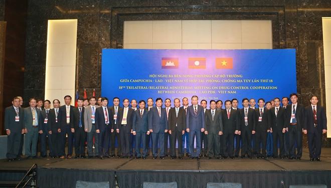 Khai mạc Hội nghị cấp Bộ trưởng Việt Nam - Lào - Campuchia về phòng, chống ma tuý - Ảnh minh hoạ 6