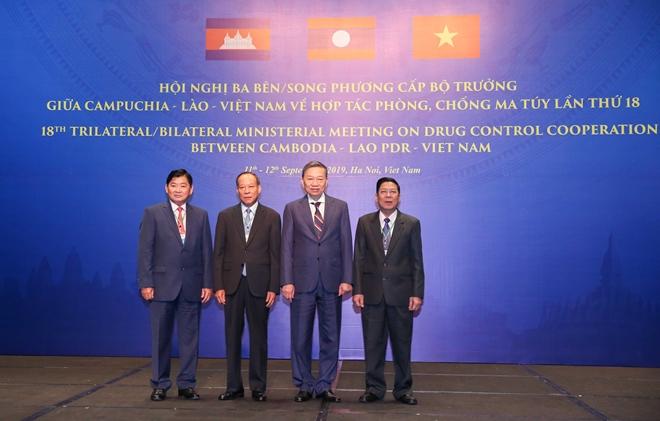 Khai mạc Hội nghị cấp Bộ trưởng Việt Nam - Lào - Campuchia về phòng, chống ma tuý - Ảnh minh hoạ 5