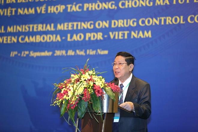 Khai mạc Hội nghị cấp Bộ trưởng Việt Nam - Lào - Campuchia về phòng, chống ma tuý - Ảnh minh hoạ 4