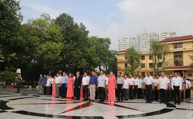 Khoá D16 Học viện An ninh nhân dân kỷ niệm 35 năm ngày tựu trường