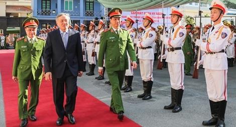 Lực lượng CSCĐ luôn trung thành tuyệt đối với Đảng, với Tổ quốc
